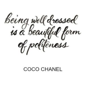 style, manners, polite, coco, chanel, quote
