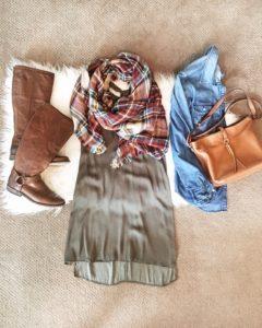 olive, green, blanket scarf, denim, frye boots, saddle bag, everyday style