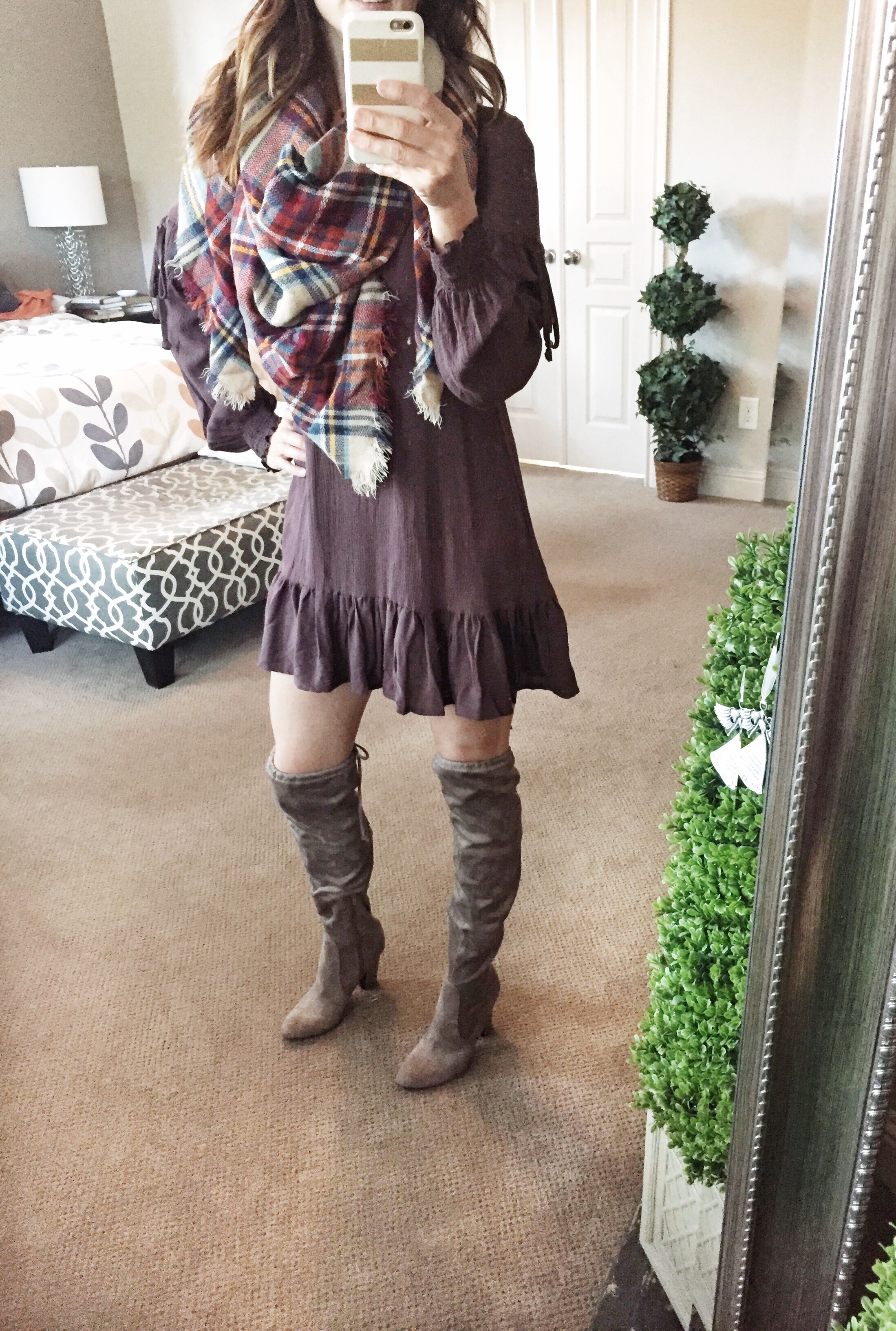 over the knee boots, yes, no, fall fashion, would you wear them, method39, mystyle, warrdobe stylist, your stylist, on the blog, try something new, layers