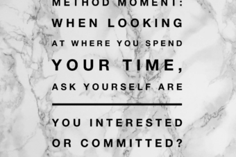 Are you Interested or Committed?