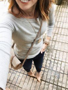 boatneck, grey, sweater, neutrals, wear it, style, everyday style, method39, wardrobe consultant