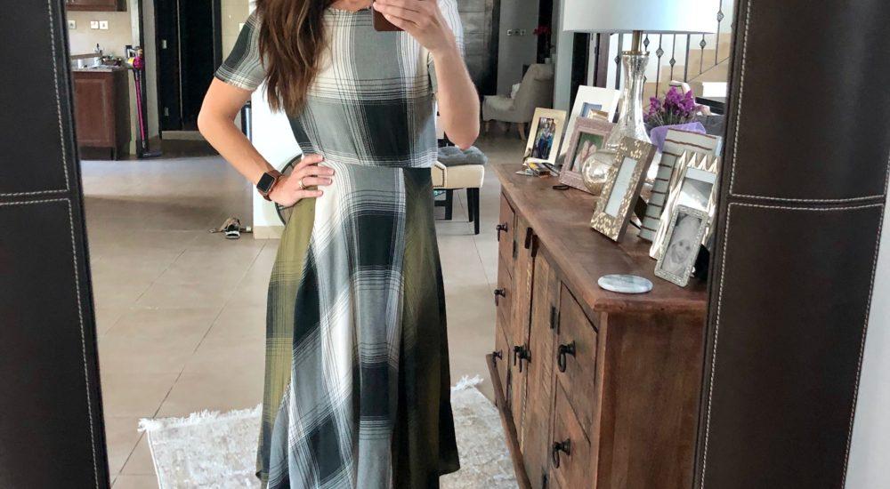 Seasonless Plaid Dress